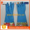 Голубые перчатки домочадца латекса латекса домочадца (DHL716)