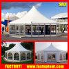 tente en aluminium de dôme de pagoda d'hexagone de 8m 10m 12m pour le mariage