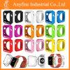 Envoltura ultrafina del caso de la cubierta suave del color sólido TPU para el reloj 38m m y 42m m de Apple