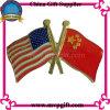 Значок флага металла для подарка сувенира (m-EB05)