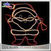 Luz impermeable de Papá Noel del adorno de la decoración LED de la Navidad