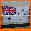 Haltbares waschbares Weiß-BRITISCHE Polyester-Markierungsfahne
