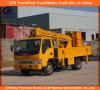 JACの二重列の高度のプラットホームは販売のための22mをトラックで運ぶ