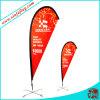 Bandiera personalizzata della bandierina della visualizzazione di disegno, bandiera della bandierina del Teardrop della spiaggia