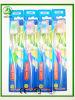 Embalagem do saco de OPP com o Toothbrush transparente do adulto do punho do tampão