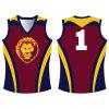 Futebol de rugby australiano Sublimated costume Jersey para a equipe