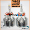 Diodo emissor de luz super Car Headlight de Bright 3000lm 25W a Philips