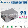 sistema de energia 20W Home solar portátil, sistema de energia solar, sistema de energia solar, sistema de gerador solar