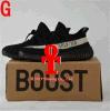 2017 avec la saison 3 Sply de chaussures de course de la saison V2 3 de la poussée 350 de Yeezy Sply 350 Yeezy de cadre 350 chaussures de course d'espadrilles Kanye neuf avec le cadre