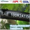 Tuyau en caoutchouc hydraulique de SAE 100 R2at (fabriqué en Chine)
