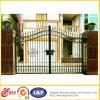 Iron modellato Gate con Galvanized&Powder Coated