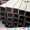 Tubo de acero cuadrado galvanizado sumergido caliente