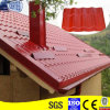 電流を通された台形の鋼板の屋根瓦(RT004)