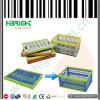 プラスチックFoldable記号論理学の移動貯蔵容器