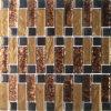 Mosaico de cristal de la hoja de oro del material de construcción (VMW3309)