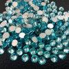 Ss20 del Aquamarine 10 del bolso Rhinestone grueso del cristal de Hotfix no