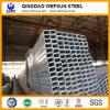 tubo d'acciaio galvanizzato rettangolare Q235 di 6m