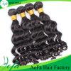 最もよいQuqlityのバージンの加工されていなく自然な毛の卸売の人間の毛髪