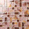 Mattonelle di mosaico di vetro della fibra di vetro della decorazione Cracked del ristorante