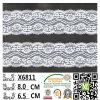 Cordón elástico de la nueva de la llegada alta calidad de la manera para las mujeres X6811