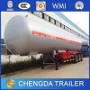 Tri reboque do tanque do petroleiro de óleo Trailers/LPG do eixo/reboque do depósito de gasolina