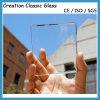 glace claire blanche claire supplémentaire en verre en verre de flotteur d'espace libre de 5-12mm