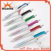 Penna a sfera di plastica di scatto elegante di disegno di modo per il marchio promozionale (BP1201S)