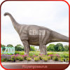 Escultura artificial del dinosaurio de la diversión del patio del dinosaurio