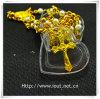 Contenitore di imballaggio di plastica del cuore, contenitore di rosario, rosari religiosi (IO-p027)