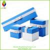 De elegante Blauwe Doos van de Verpakking Paperjewelry voor Ring