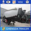 Acoplado a granel del carro del transporte del cemento con el acoplado del carro pesado
