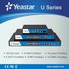 Потребители FXS/FXO/GSM/UMTS/Bri/E1/T1/J1 серия 1-500 Yeastar Mypbx u держат опционный IP PBX