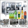 Saft und Tea Bottle Filling Production Line