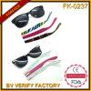 Tempel-Kind-Sonnenbrillen der obersten modernen doppelten Einspritzung-Fk-0237 veränderbare