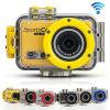 Câmera Sp19 de Gopro da câmera do esporte de WiFi da cor do ouro da venda do ouro
