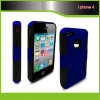 3 en 1 Football Lines Protection Sleeve para iPhone4
