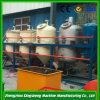 手製の小規模の石油精製所、機械を作るオイル