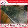Precio de la talla Checkered de la placa del acero inoxidable del grado 304