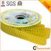 Amarillo del oro de los materiales No. 10 de la cinta del embalaje de la flor y de regalo