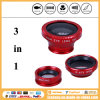 Nieuwste 3 in 1 Universal Clip 180 Degree Fisheye Lens voor iPhone