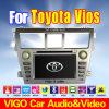 Coche DVD GPS Sat Nav para el nuevo Vios Yaris sedán de Toyota (VTV6216)