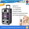 manier Designe BasSpreker van de Karaoke van 10 Duim de Openlucht met Draadloze Mic