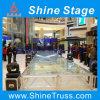 Hartglas-Stufe bauen Stufe-Zeremonie-Stufe zusammen