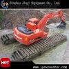 Taille moyenne flottant l'excavatrice hydraulique de chenille à vendre