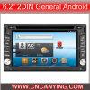 Reprodutor de DVD especial para o Android 6.2  2DIN geral com GPS, Bluetooth do carro. (AD-8581)