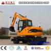 excavador Xn80-L de la rueda 8ton