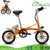 '' mini bici eléctrica plegable Pocket plegable de la bicicleta eléctrica 14