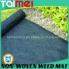 Couverture non-tissée de lutte contre les mauvaises herbes de pp, Aménageant le tissu en parc