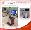 Подвижной тип машина маркировки лазера волокна