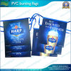 UV Printed Plastic Bunting Flags for Outdoor Advertisement (J-NF11P03002)